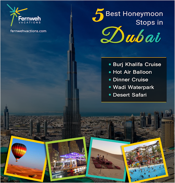 dubai honeymoon package from ahmedabad