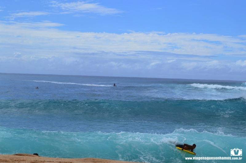 Surf no havai