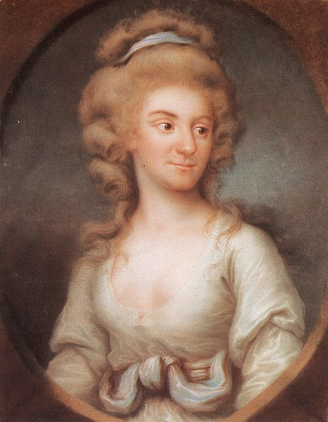 Frederica Charlotte of Prussia by Joseph Friedrich August Darbes