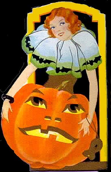halloween clip art vintage - photo #13