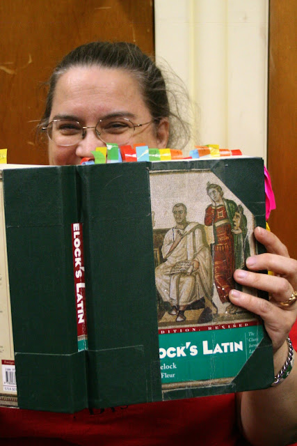 Our latin expert, Maggie is!