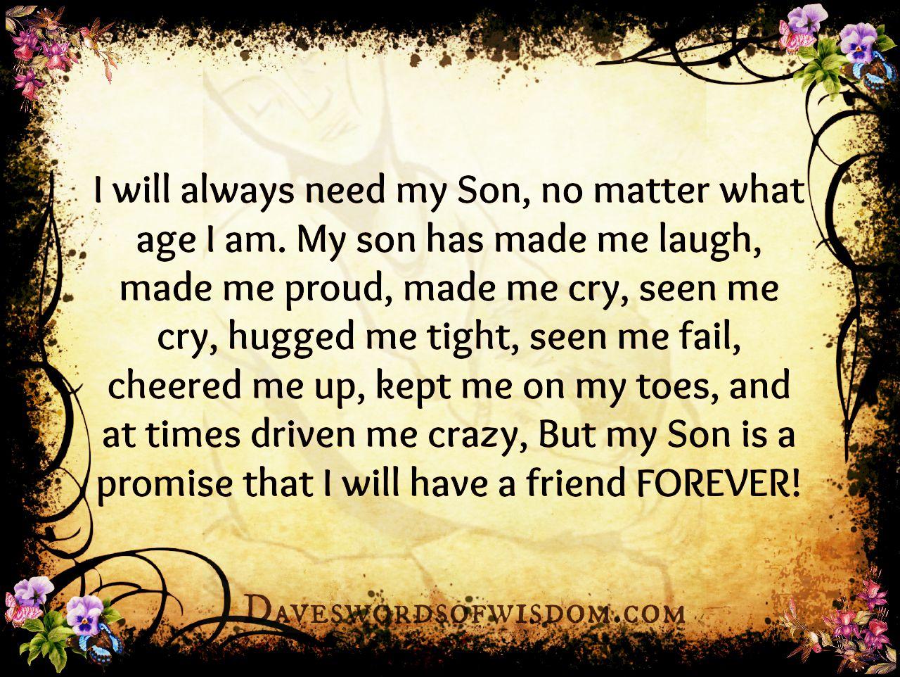 son  matter  age