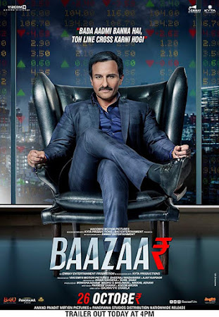 Poster Of Bollywood Movie Baazaar 2018 300MB Pdvd Full Hindi Movie