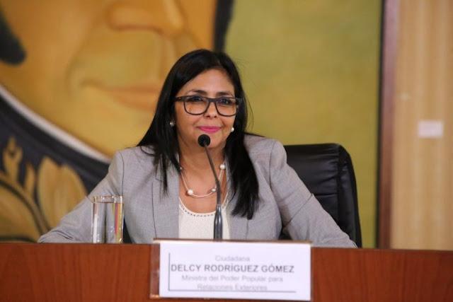 """Delcy Rodríguez: """"Más nunca vamos a entregar el poder político"""""""