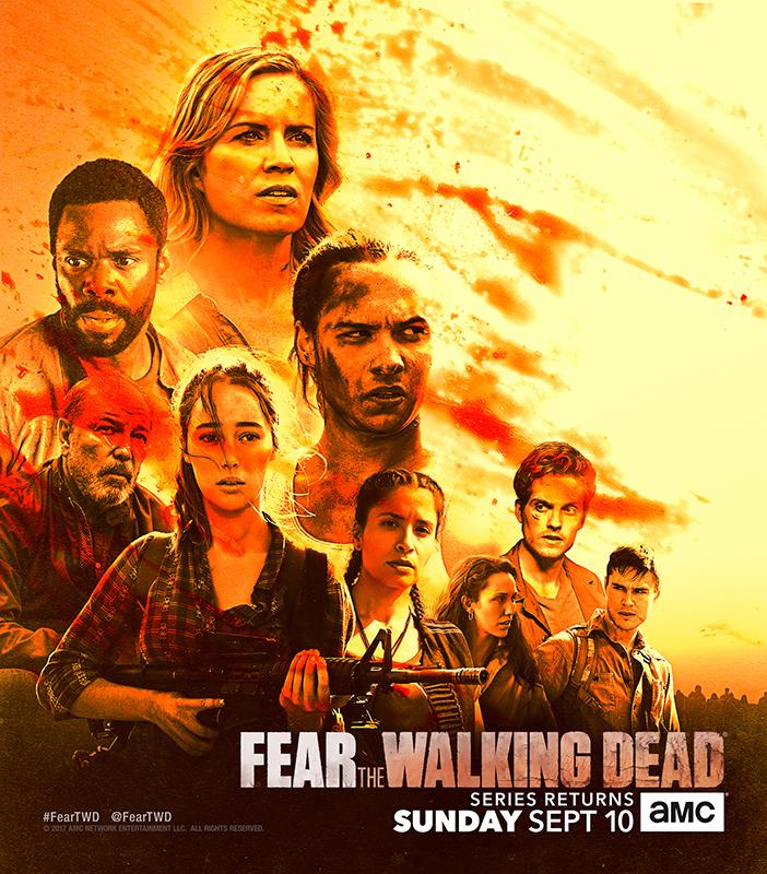 The Walking Dead Staffel 8 Burning Series