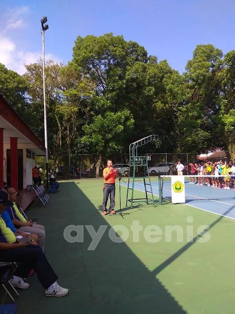 Ratusan Atlet Tenis Yunior Ikuti Kejurnas Tenis Unej Cup IV