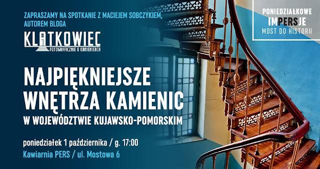 Spotkanie z Klatkowcem w Toruniu: 01.10.2018 - Poniedziałkowe ImPERSje #6