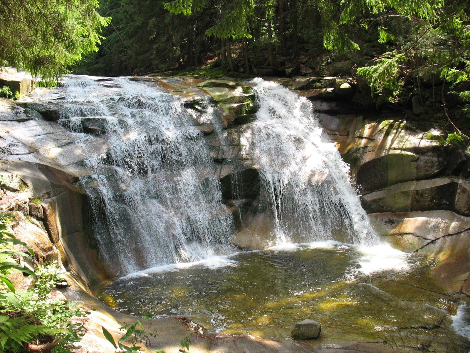 Mumlavský vodopád v Krkonoších