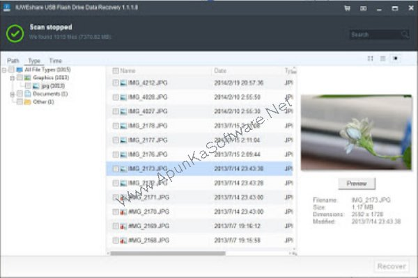 Free usb flash drive data recovery software