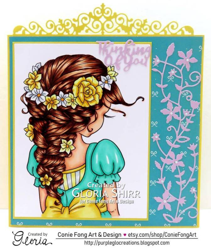 Featured Card for Morgan's Artworld Challenge Blog