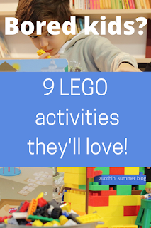 Lego ideas for when your kids are stuck at home