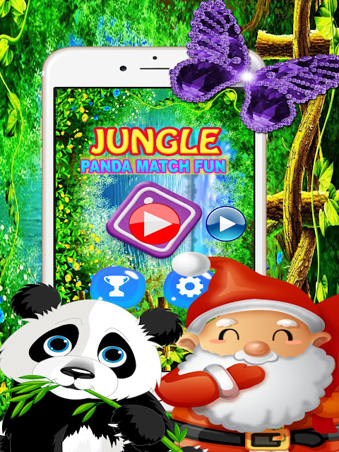 Panda Pop Bubble Shooter Game at app store for iphione and ipad christmas Family kids and Adults