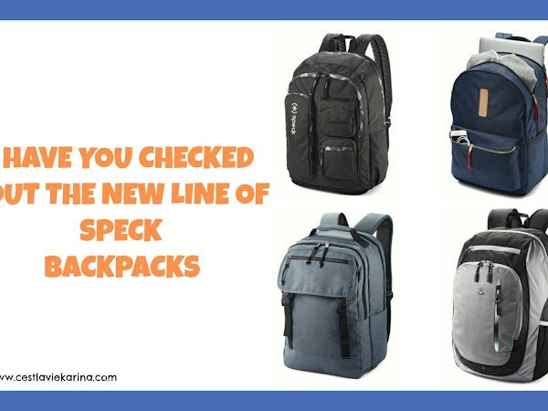 Have You Checked Out The New Line Of Speck Backpacks
