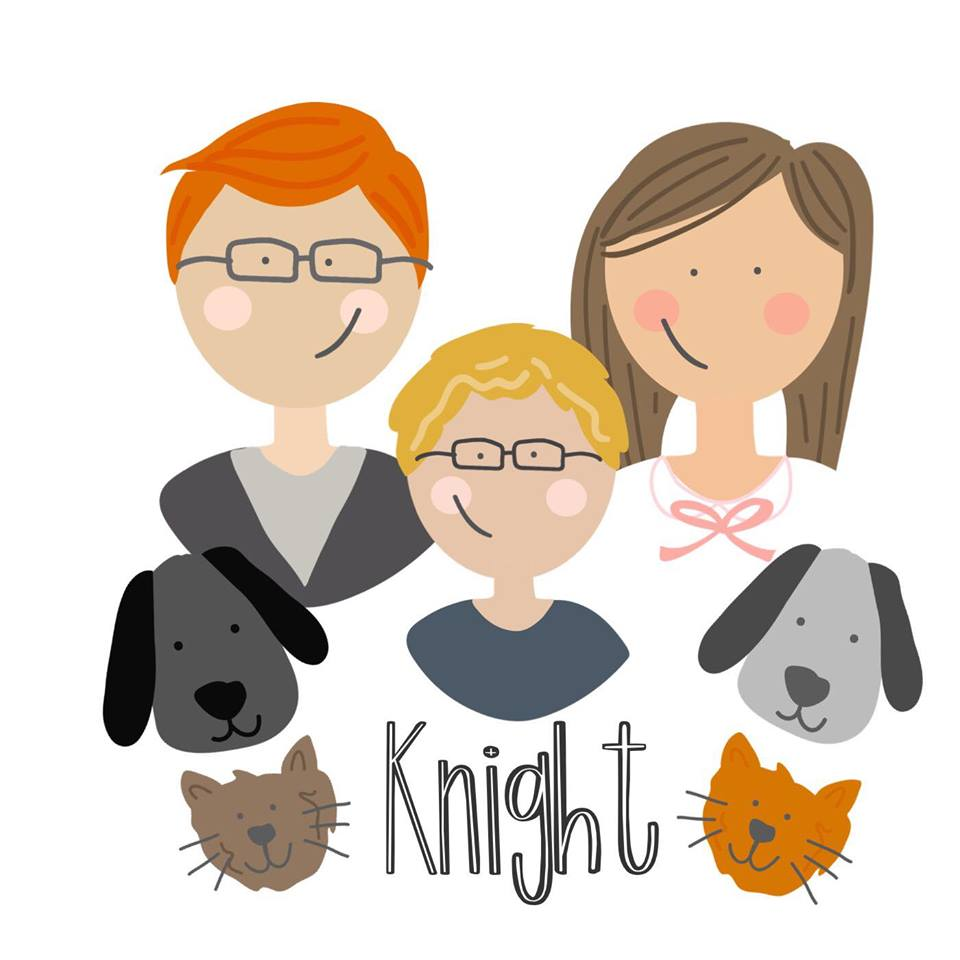Make your own family portrait using the Rhonna Designs App