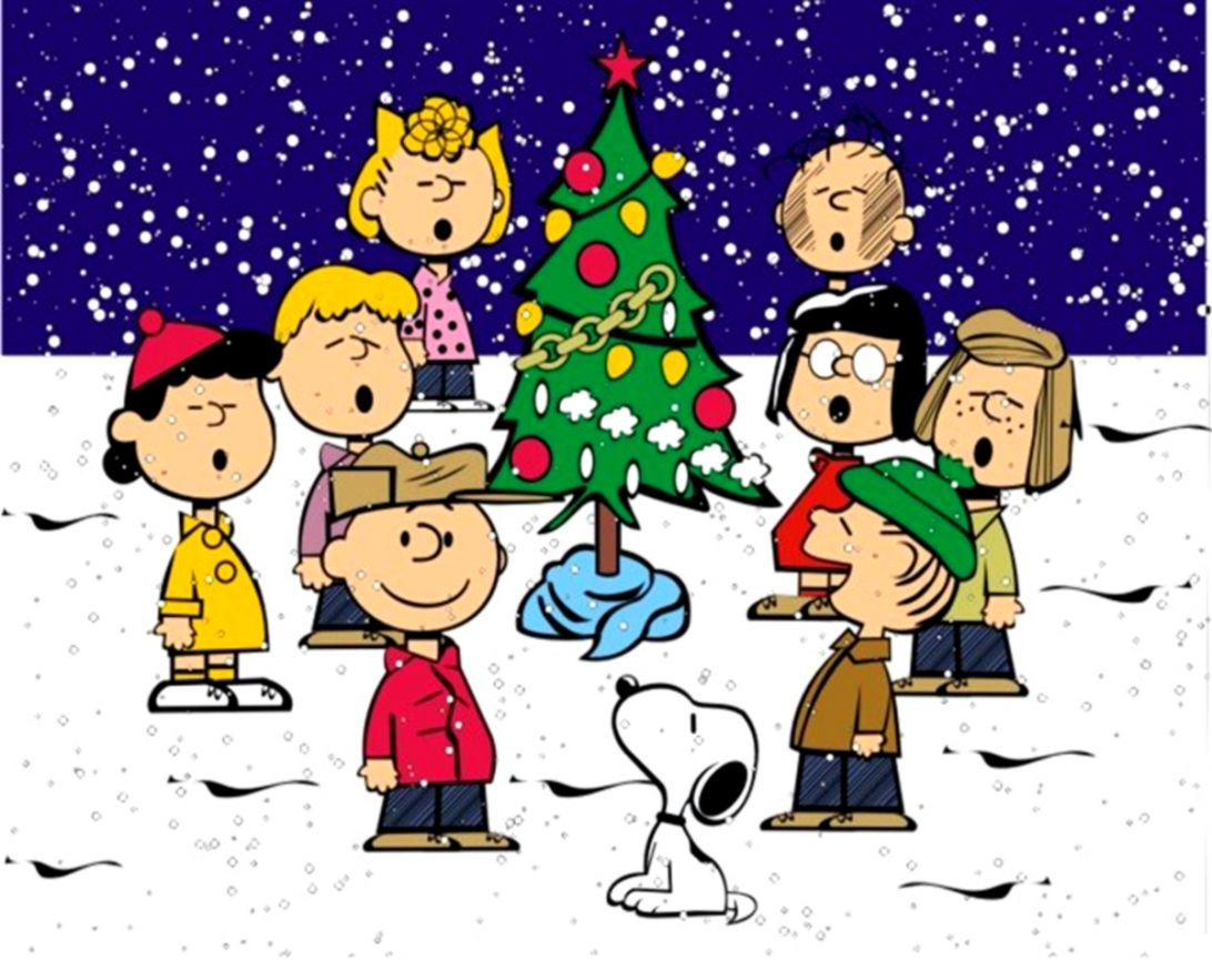 Charlie Brown Christmas Characters Wide Wallpapers