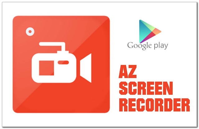 Aplikasi perekam layar HP AZ Screen Recorder