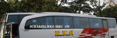 Harga Tiket Bus Eka Cepat Surabaya Semarang