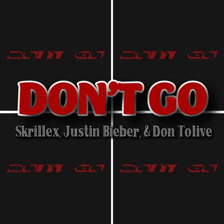 Skrillex, Justin Bieber x Don Tolive's Song: DON'T GO - Chorus: I put in the work to hear you say don't go.. Streaming - MP3 Download