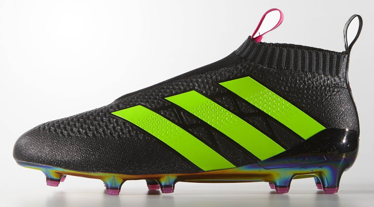 store later best price Schwarz / Grüne Adidas Ace 16+ PureControl Fußballschuhe ...