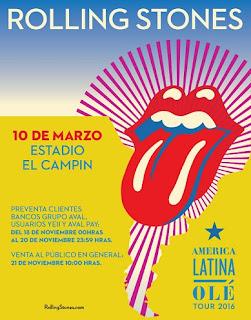 Rolling Stone en Bogota - Colombia - Latinoamerica