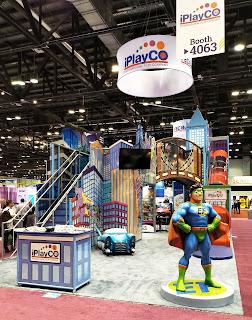 iplayco, IAAPA, Super Hero, Indoor Commercial Playgrounds, Play Equipment, Custom Theming