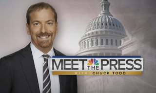 "Meet the press with chuck todd"" is the #1 most-watched sunday show"