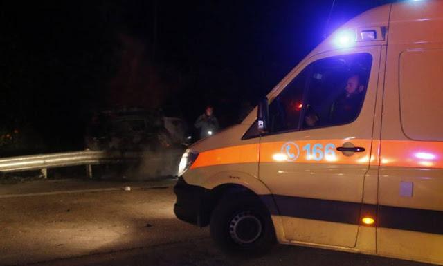 Πρέβεζα: ΙΧΕ αυτοκίνητο τράκαρε με.. μοσχάρι