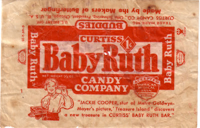 """Was There Ever a Real """"Baby Ruth""""? - History Spaces"""