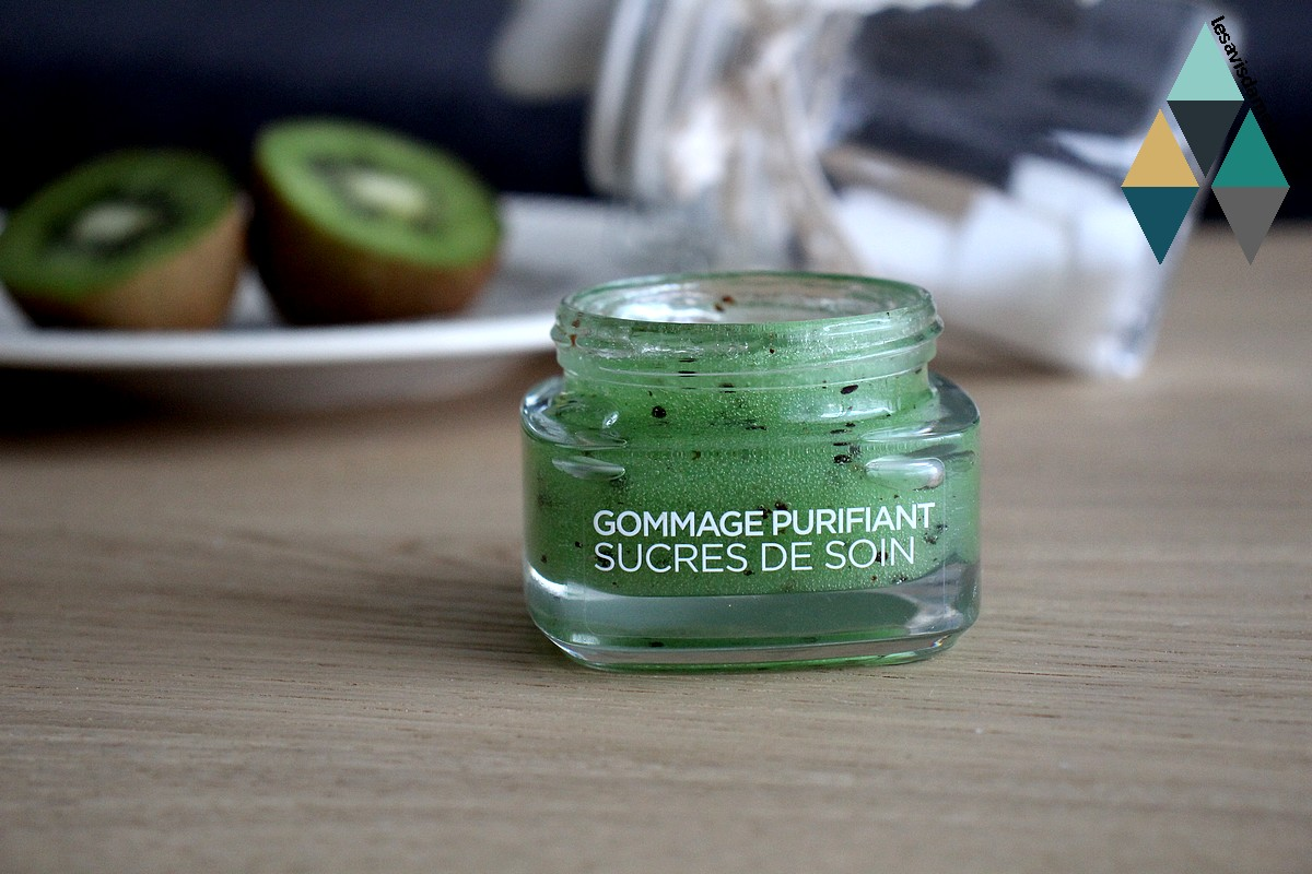 exfoliant sucre de soin naturel purifiant peaux à imperfections avis