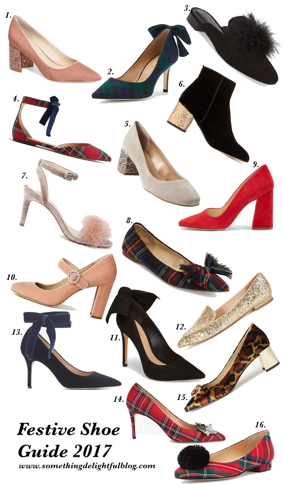 Festive Shoe Guide - Something Delightful Blog