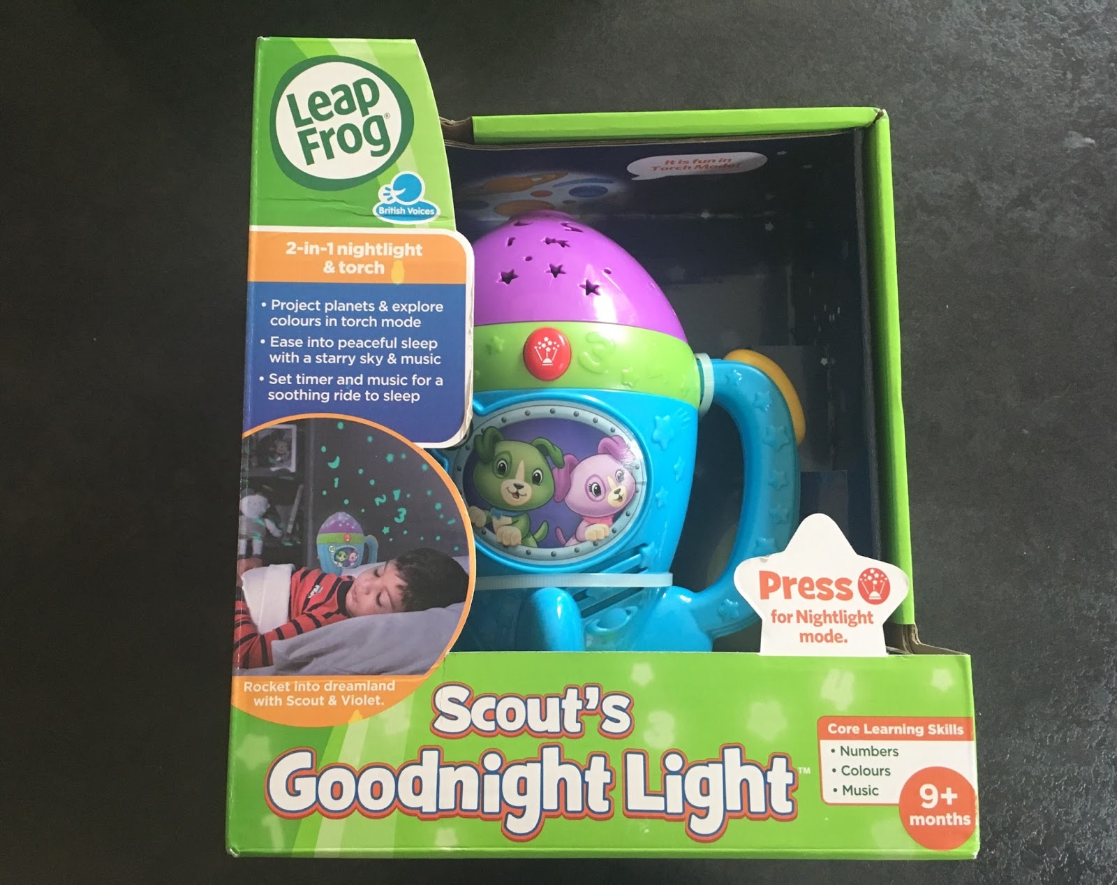 Next Up Is Scouts Goodnight Light. The Light Is Shaped Like A Rocket And Is  A Nightlight And A Torch. A Perfect 2 In 1 Product. When You Select The  Torch ...