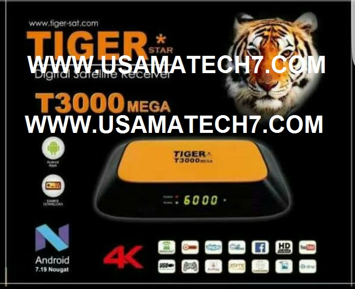 TIGER T3000 MEGA RECEIVER NEW SOFTWARE - Usama Tech - Usama