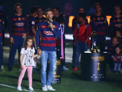 El Barça festejó el doblete en el Camp Nou imágenes