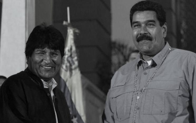 Morales y Maduro son miembros del grupo del ALBA y el socialismo del siglo XXI / WEB