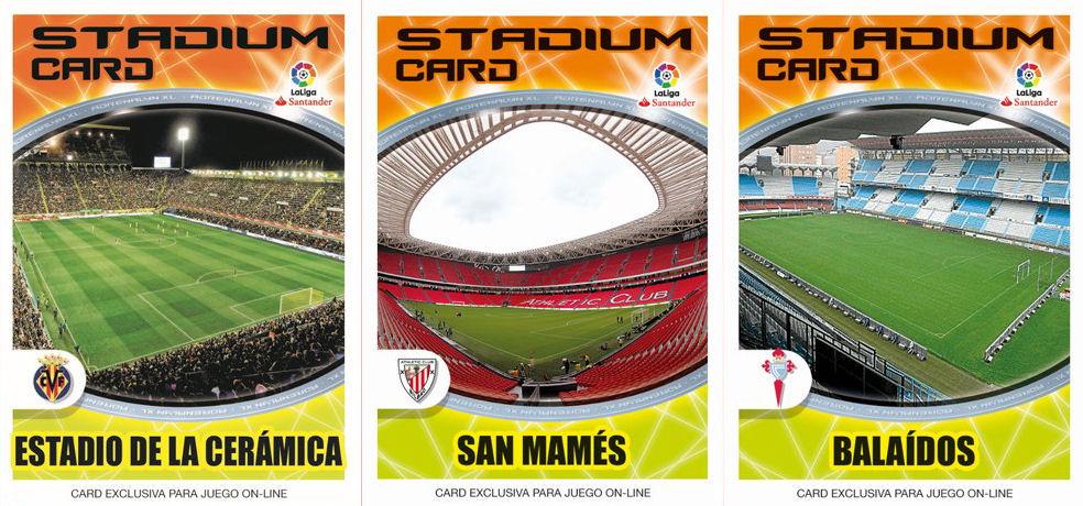 Football Cartophilic Info Exchange Panini Spain Adrenalyn Xl Liga Santander 2016 17 12 Stadium Card