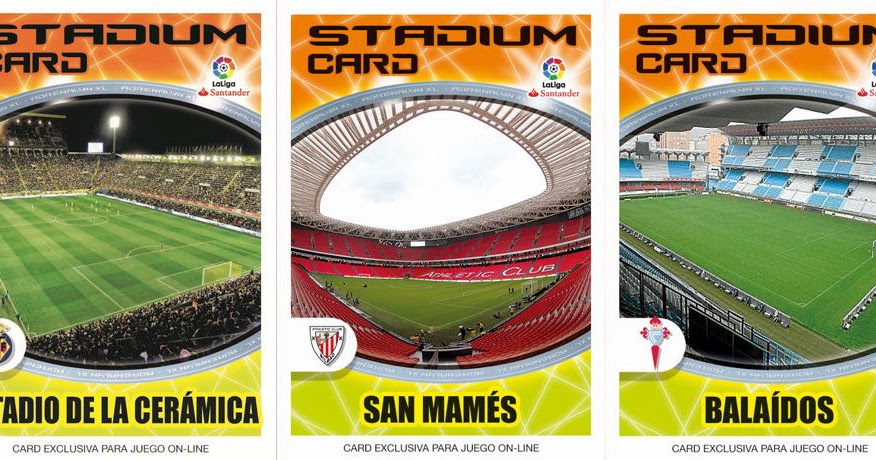 Football Cartophilic Info Exchange Panini Spain Adrenalyn Xl Liga Santander 2016 17 12 Stadium Card