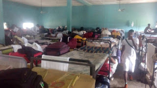 Image for Akwa-Ibom state NYSC  camping hall with bunks