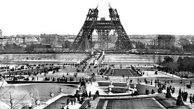 Sejarah panjang berdirinya menara eiffel dikota paris