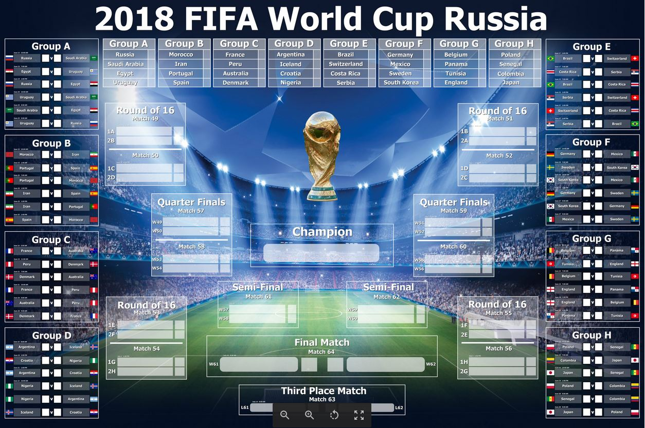 Free World Cup Score Sheet Poster Download The Words