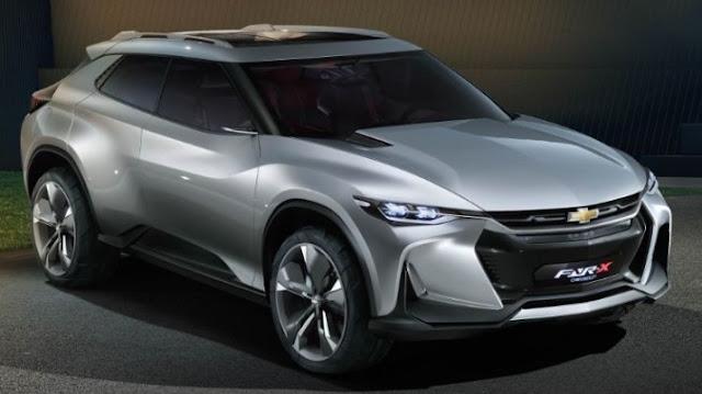 Chevrolet Fnr X Concept Debut In Shanghai Auto Show 2017
