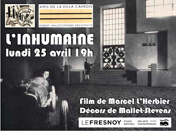 Projection de L'Inhumaine