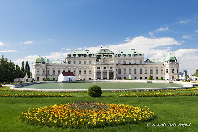 Jardines Belvedere Alto - Viena por El Guisante Verde Project