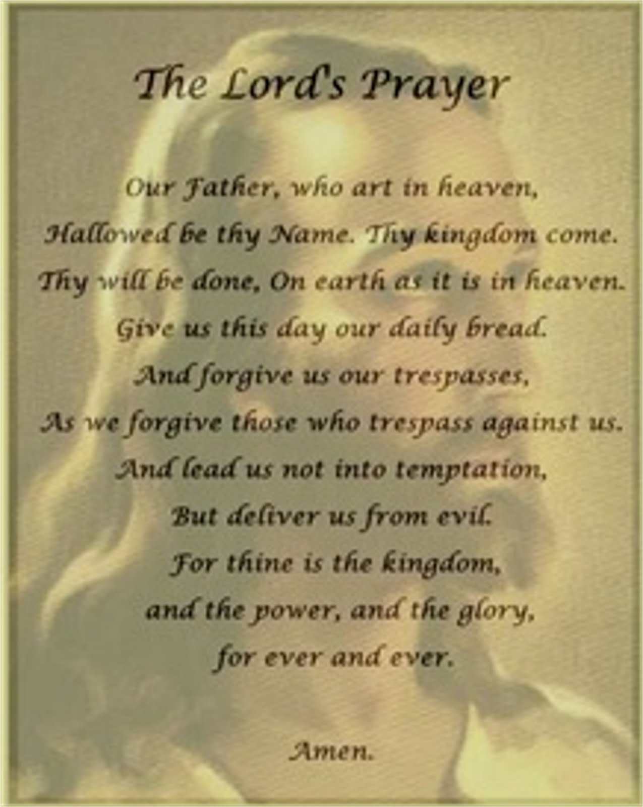 Clinging To The Tree Of Life The Lord S Prayer