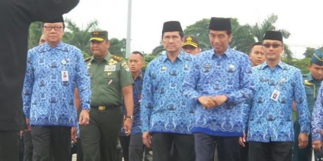 Jokowi: Siapa Bilang Ada Demo 2 Desember ? Yang Ada Doa Bersama