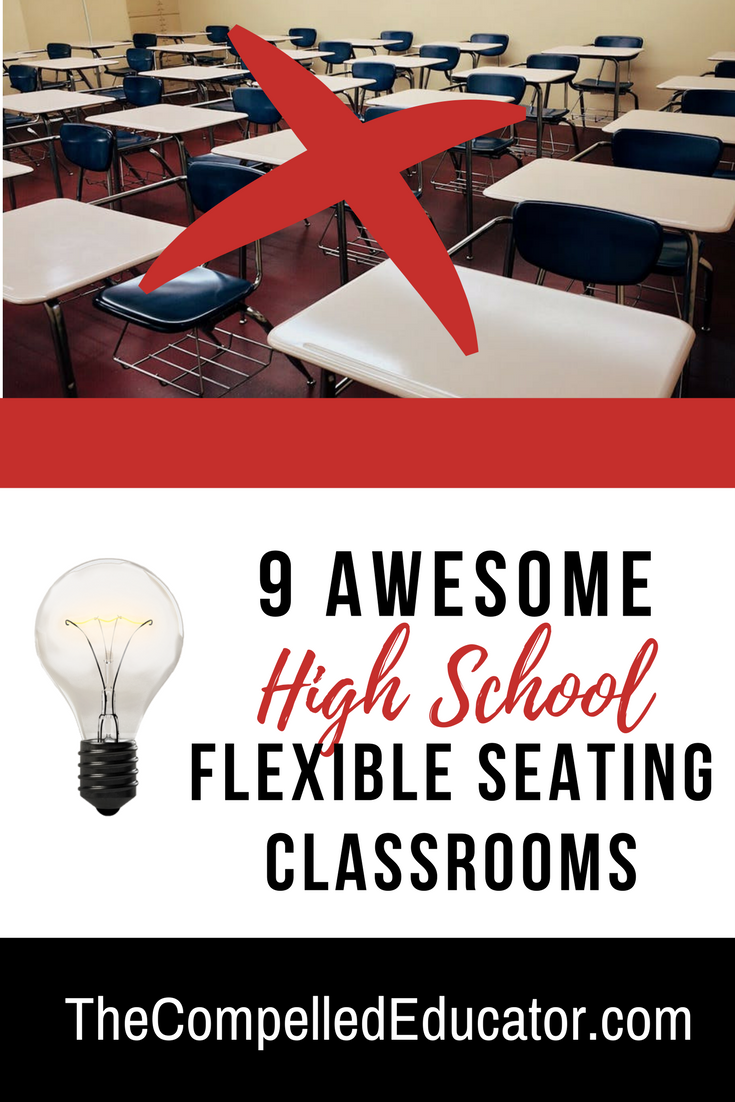 Flex Chairs The Compelled Educator 9 Awesome High School Flexible Seating