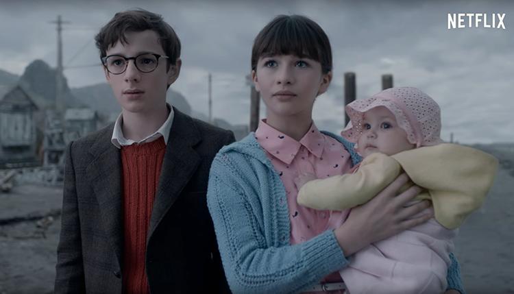 Desventuras em Série Netflix - Irmãos Baudelaire