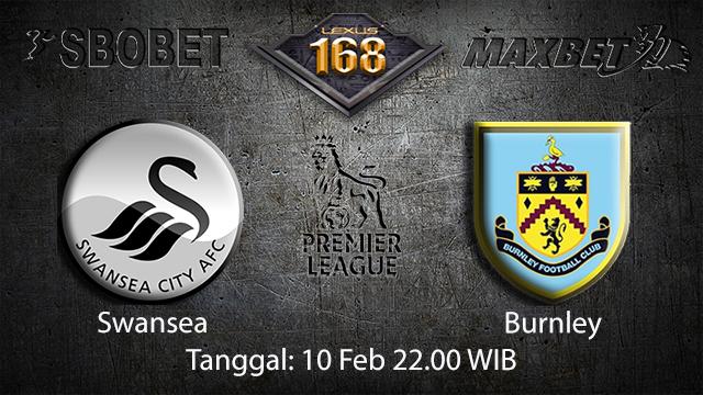 PREDIKSIBOLA - PREDIKSI TARUHAN BOLA SWANSEA VS BURNLEY 10 FEBRUARI 2018 ( ENGLISH PREMIER LEAGUE )