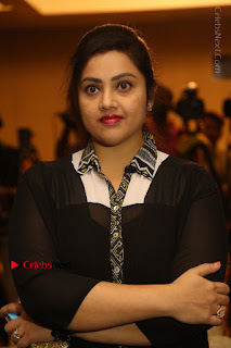 Tamil Actress Meena Latest Stills in Black Dress at TSR TV9 Awards Press Meet  0046.JPG