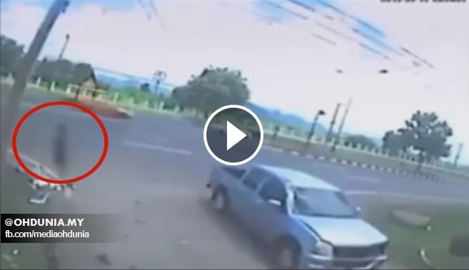 Video 'Roh Wanita Berpisah Dari Badan' Selepas Kemalangan Jadi Viral
