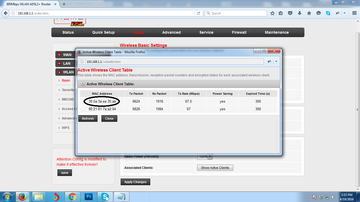 How to Block Wifi User on PLDT Home DSL Router ...